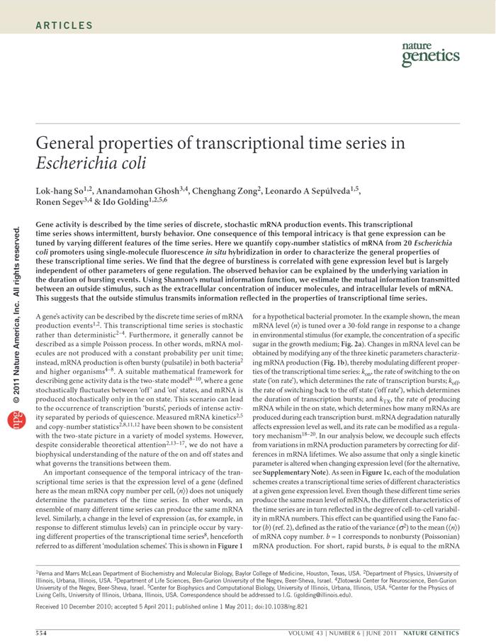 So et al., Nat. Genet. 2011 [PDF]