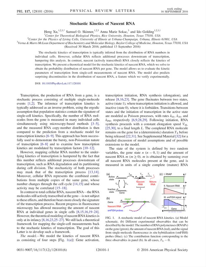 Xu et al., Phys. Rev. Lett. 2016 [PDF]